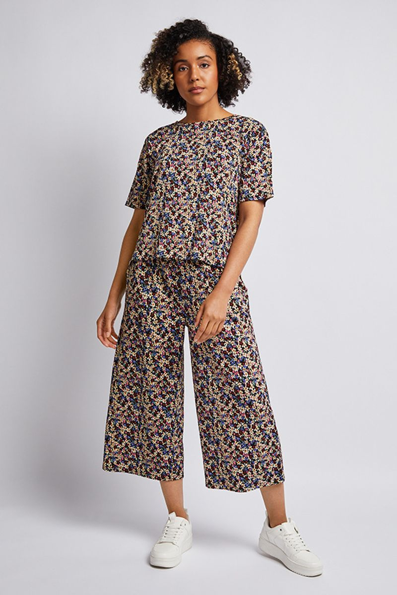 Ditsy Floral Co-ord top