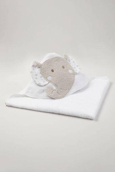 Elephant Hooded towel