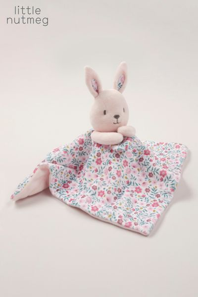 Little Nutmeg Pink Bunny Snuggler