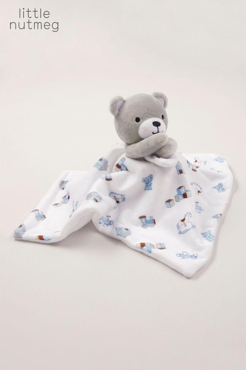Little Nutmeg Blue Bear Snuggler