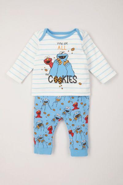 Sesame Street Cookie Monster pyjamas