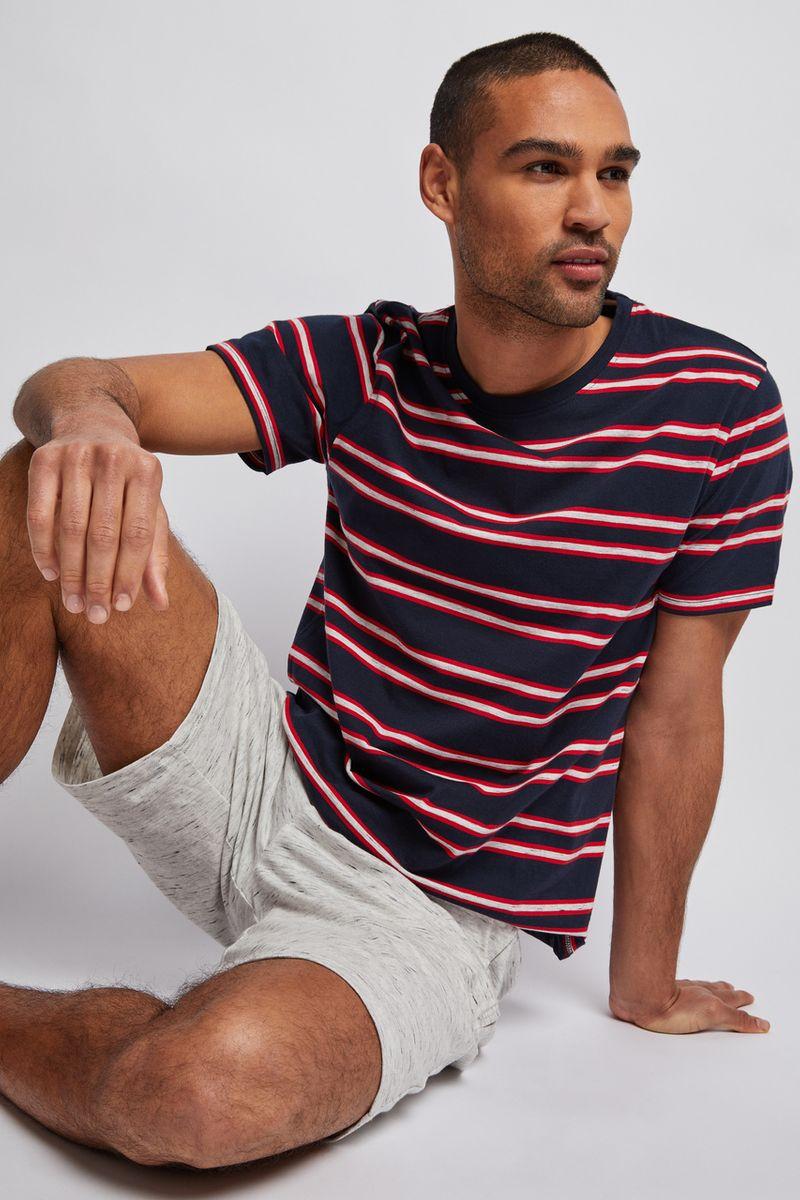 Stripe Print Pyjamas