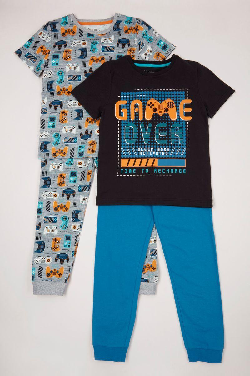 2 Pack Recharge Gaming pyjamas