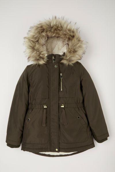 Khaki Parka Coat