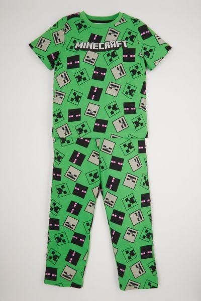 Minecraft Creeper Pyjamas