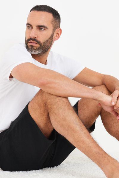 Black Ripple Shorts