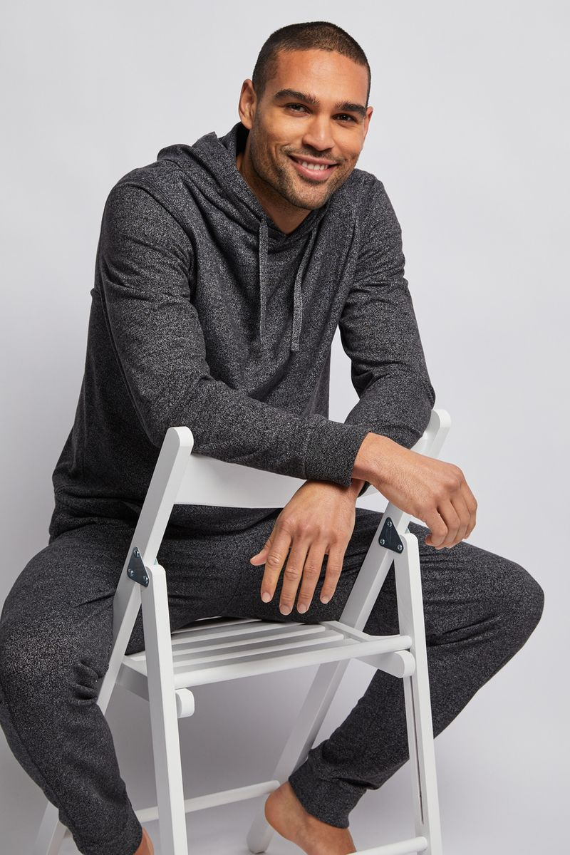 Charcoal Grey Loungewear Set