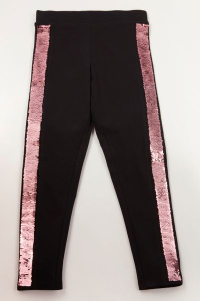 Reversible Sequin leggings