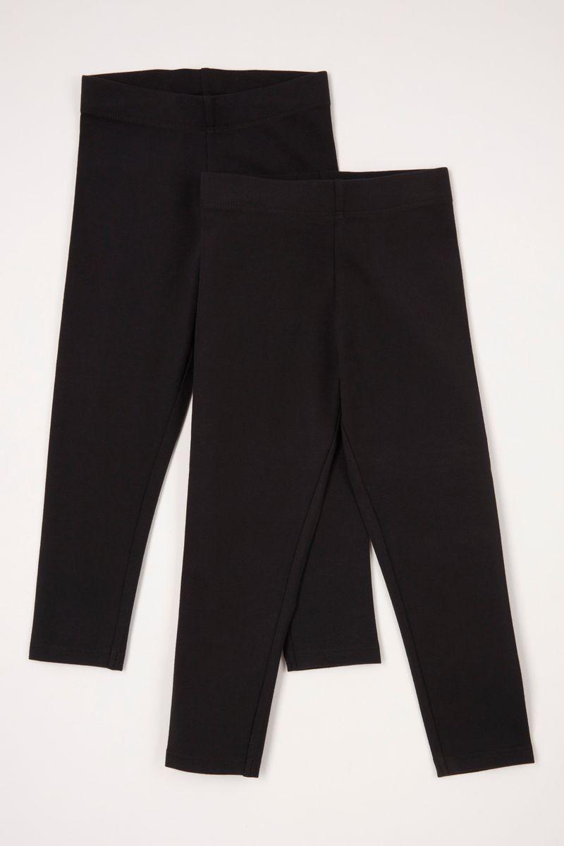 2 Pack Soft Black leggings