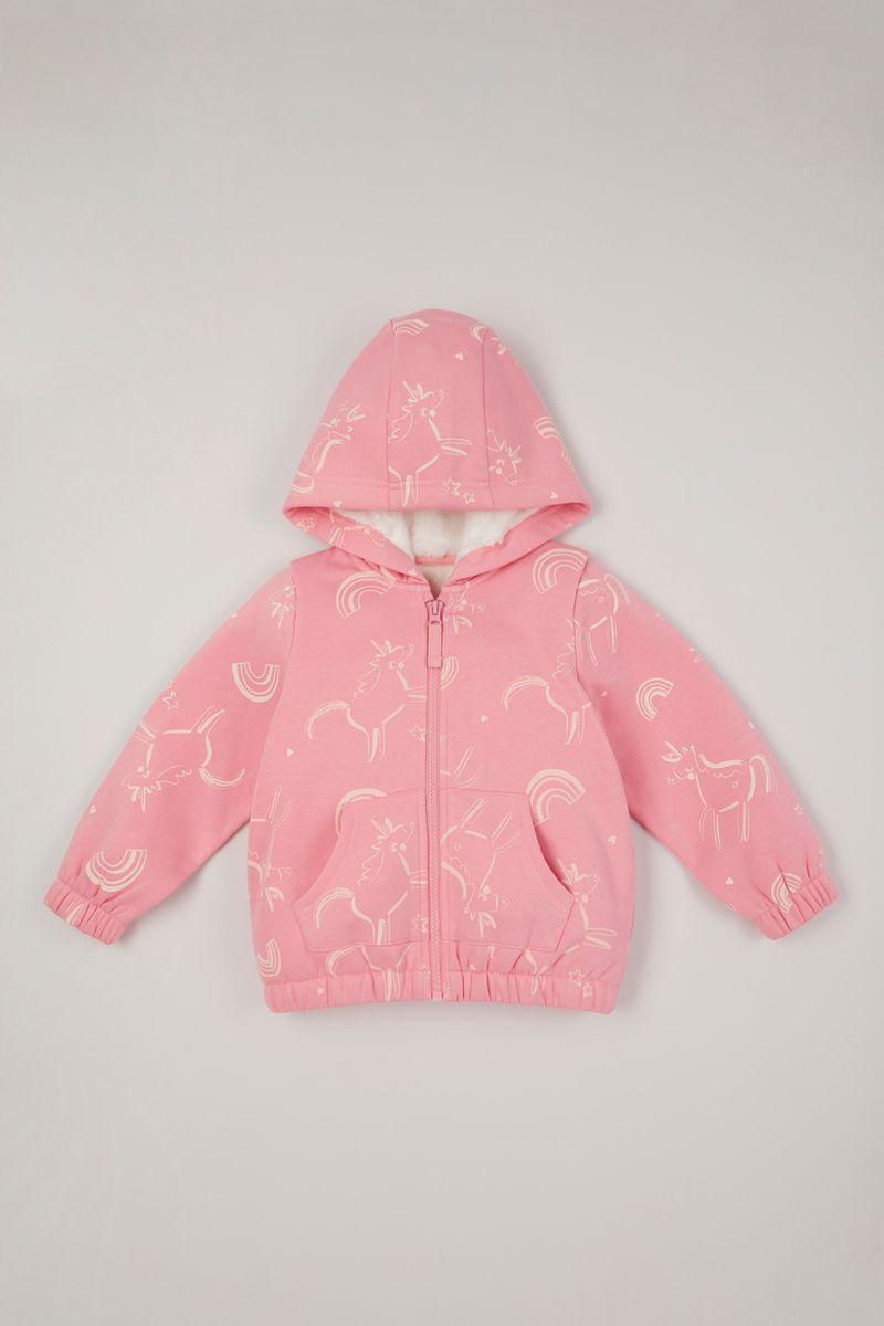 Pink Unicorn Borg hoodie