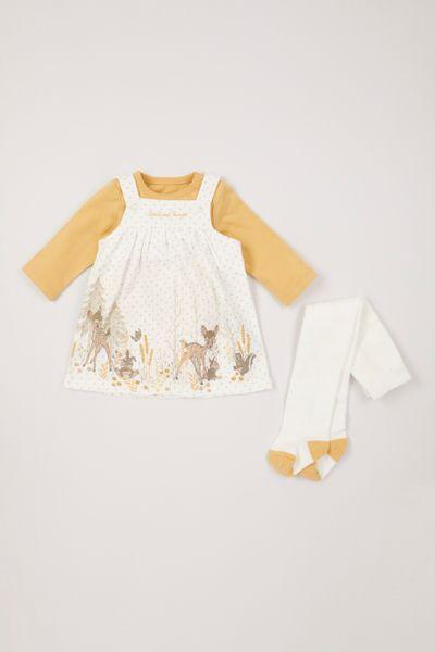 Disney Bambi Pinafore Dress set