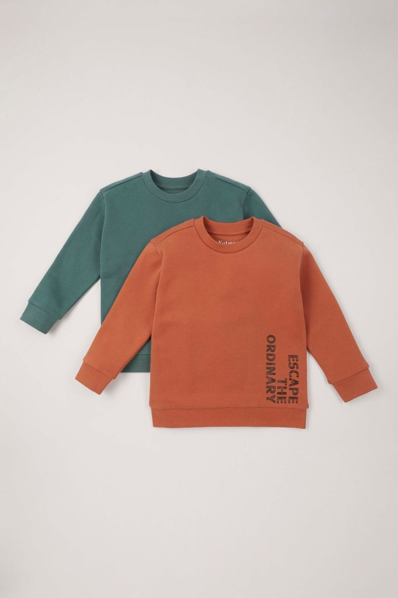 2 Pack Sweatshirts 1-10 yrs