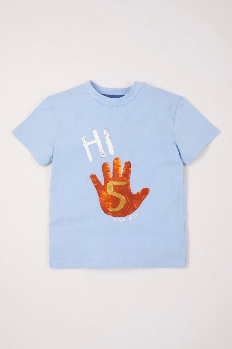 High Five Reversible Sequin T-Shirt