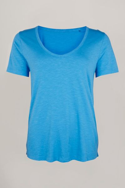 Online Exclusive Blue Loose Fit T-Shirt