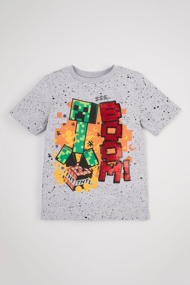 Minecraft Sequin T-shirt
