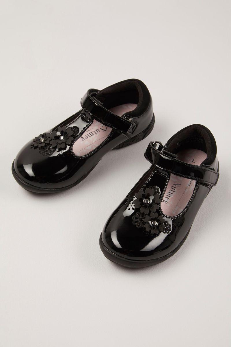 Floral School Shoes