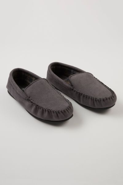 Charcoal Moccasins Slippers