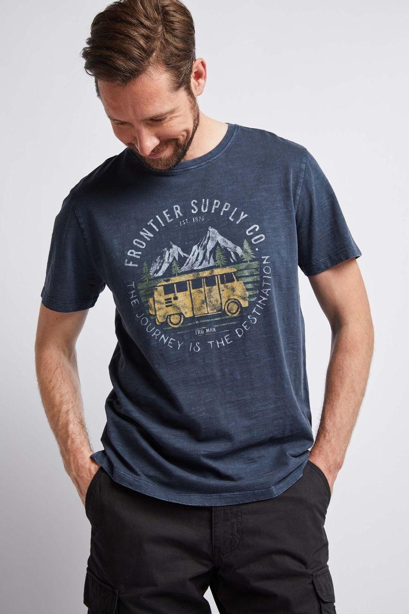 Navy Mountain Range T-Shirt