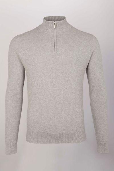 Grey Quarter Zip jumper
