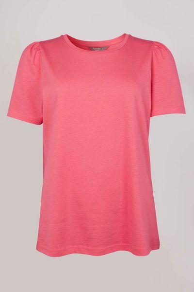 Pink Puff Sleeve T-shirt