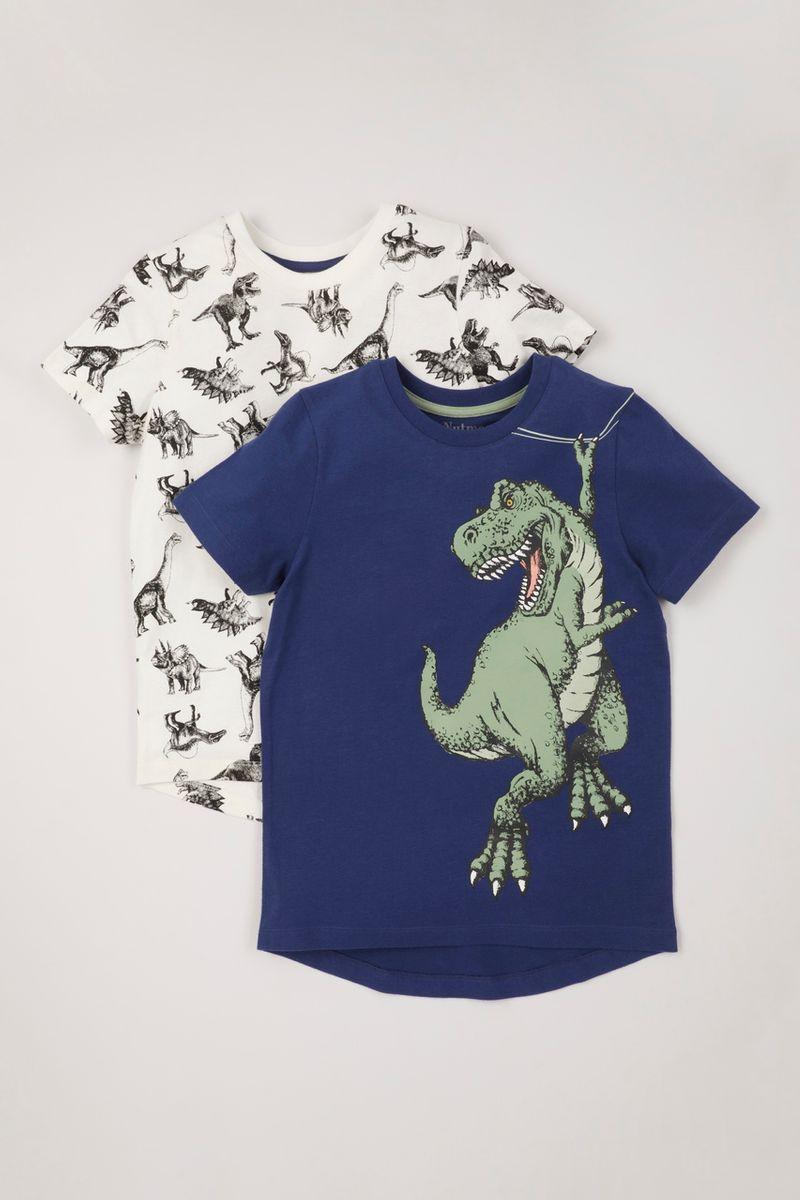 2 Pack Dinosaur T-shirts
