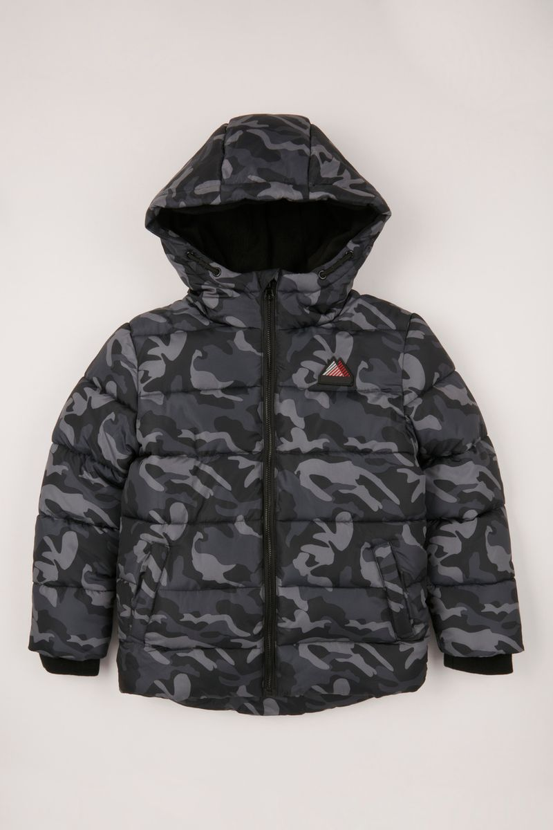 1-10 Camo Padded Coat