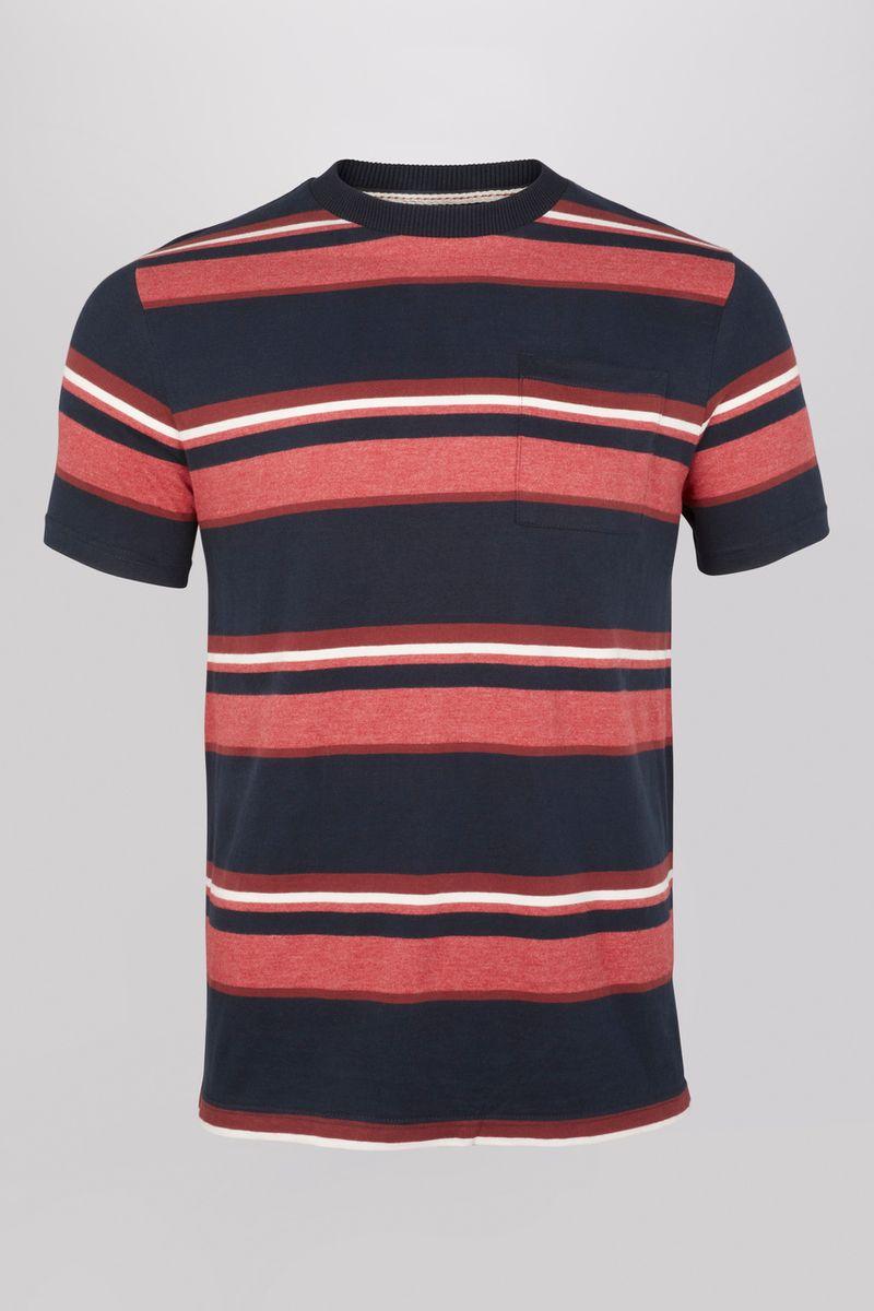 Rust Stripe T-Shirt