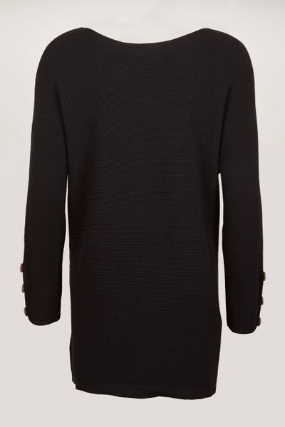 Black Knitted Tunic