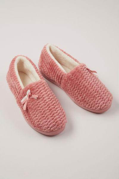 Pink Comfort Slippers