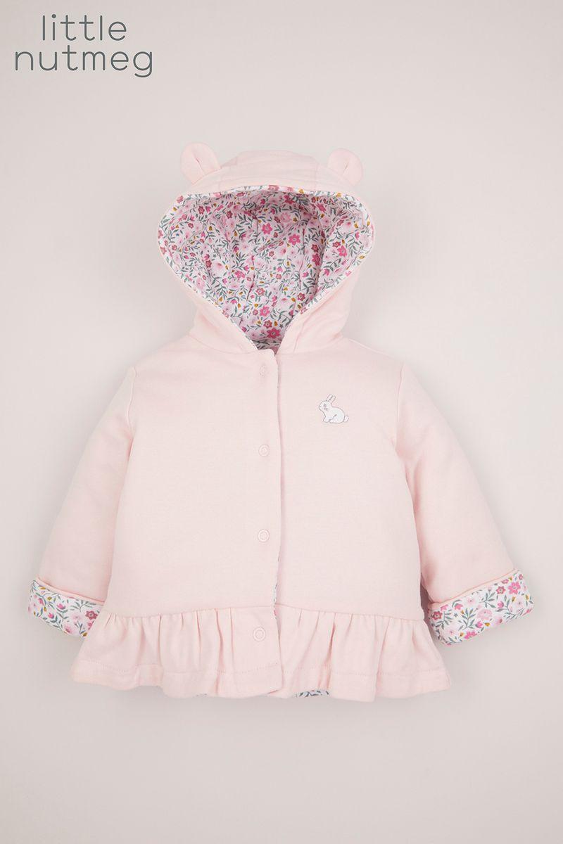 Little Nutmeg Pink Reversible Jacket