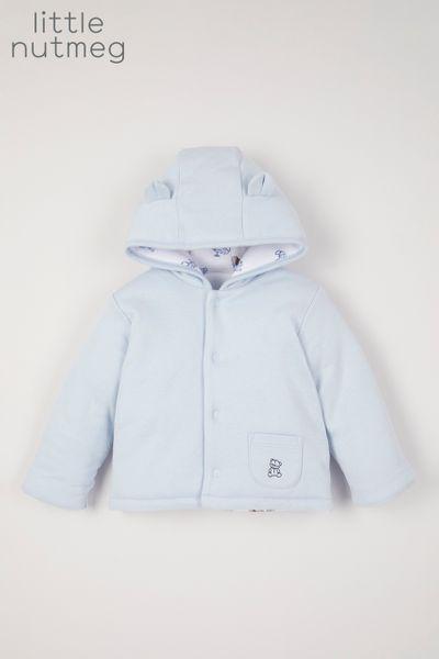 Little Nutmeg Blue Reversible jacket