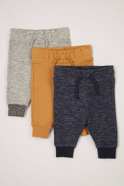 3 Pack Soft Joggers