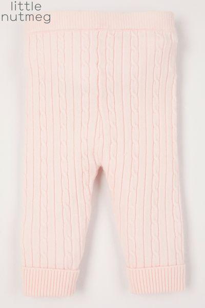 Little Nutmeg Soft Pink Leggings