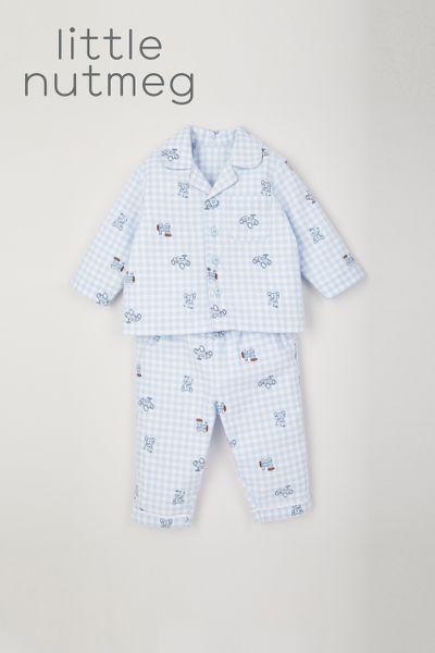 Little Nutmeg Woven Pyjamas