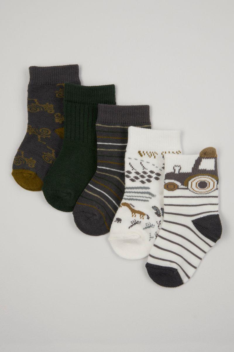 5 Pack Tractor socks