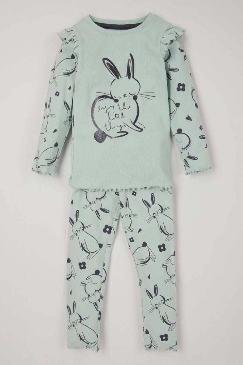 2 Piece Bunny Ribbed set