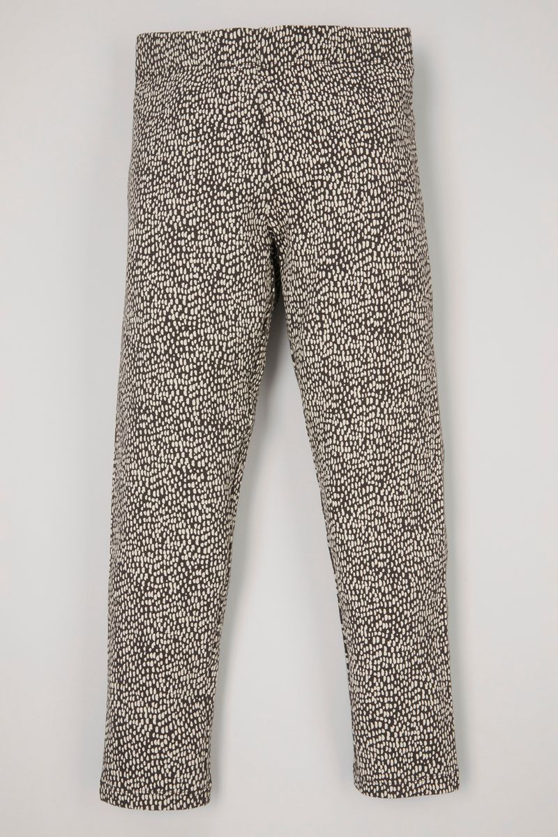 adjustable spot print leggings 3-14yrs