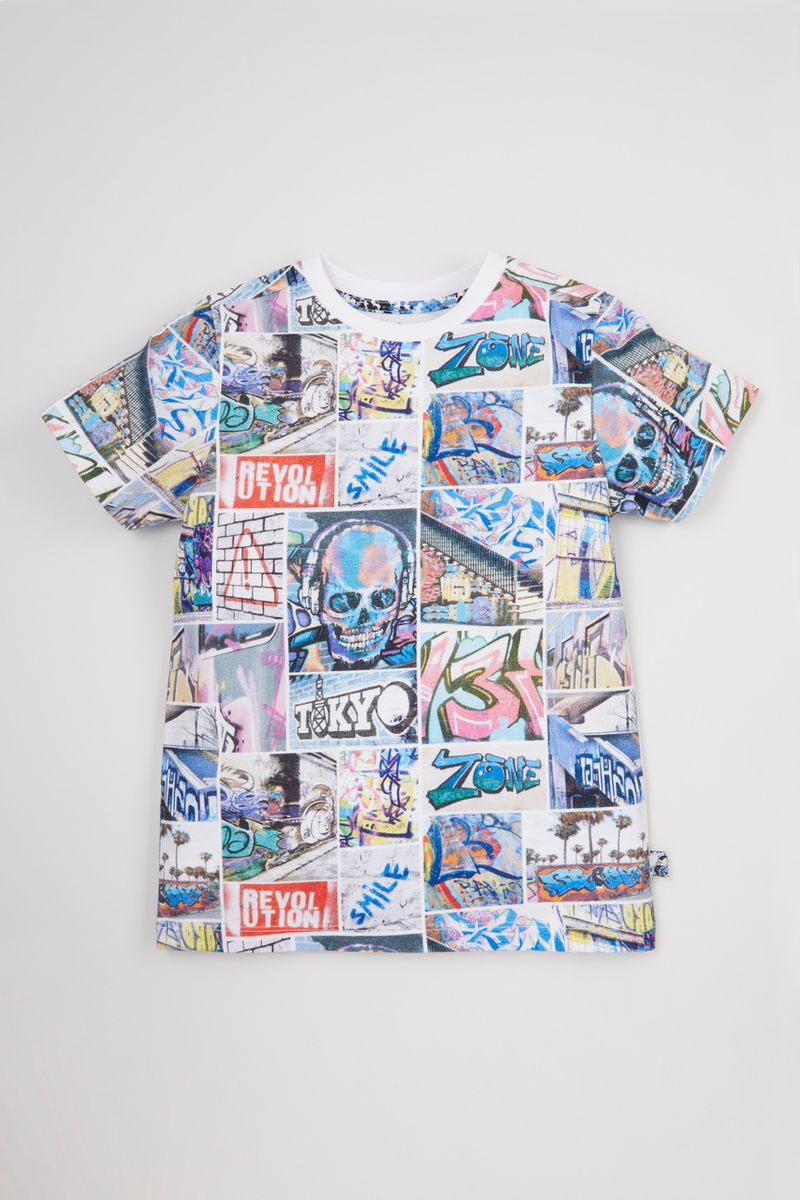 Graffiti Photographic T-shirt