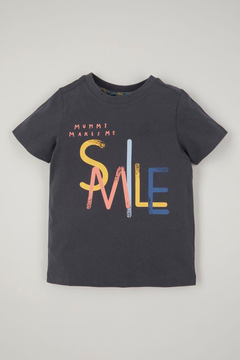 Mummy Smile Slogan T-shirt