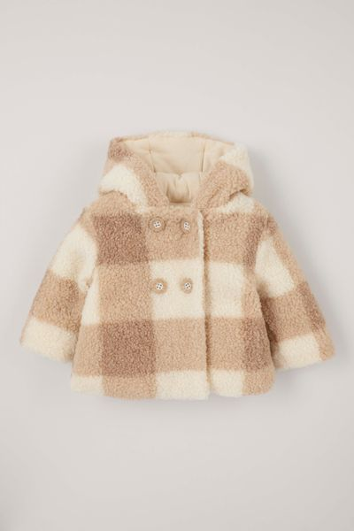 Check Sherpa Jacket