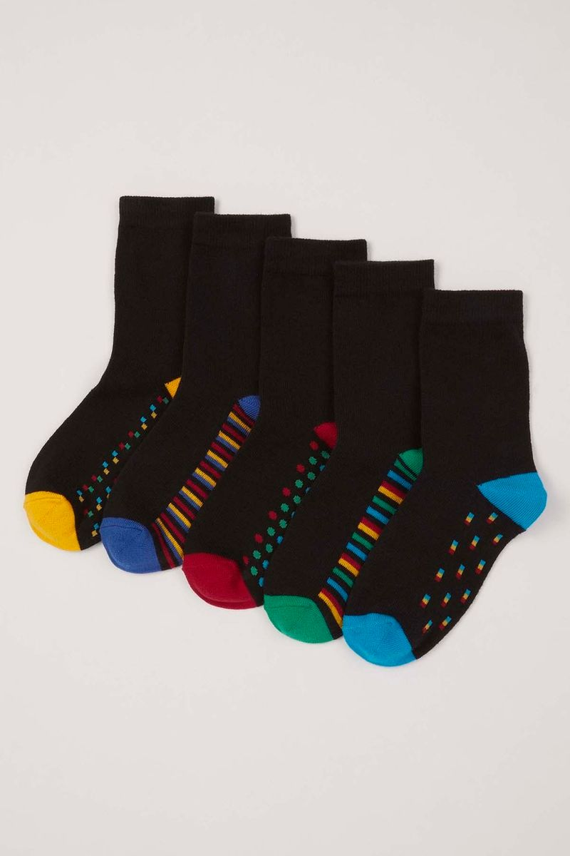 5 Pack Geo Socks