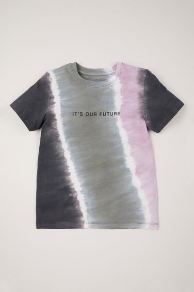 Purple Tie-Dye T-shirt