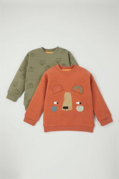 2 Pack Bear Sweatshirts
