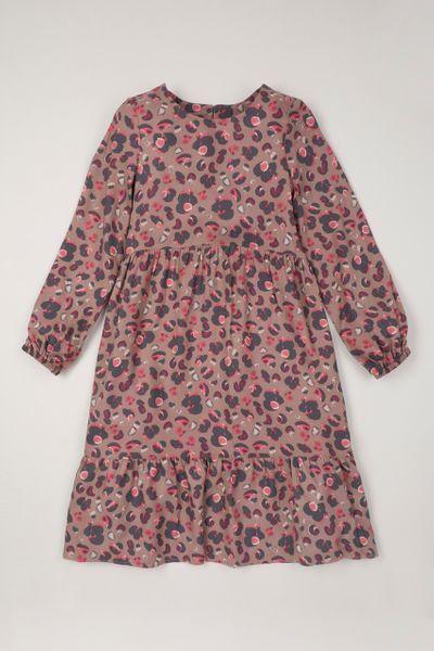 Leopard Tiered Midi dress
