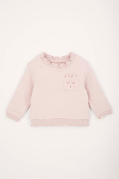 Cat Pocket sweatshirt