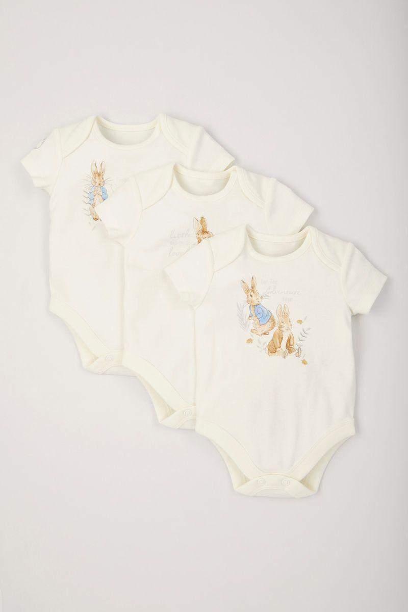 Peter Rabbit 3 Pack Bodysuits