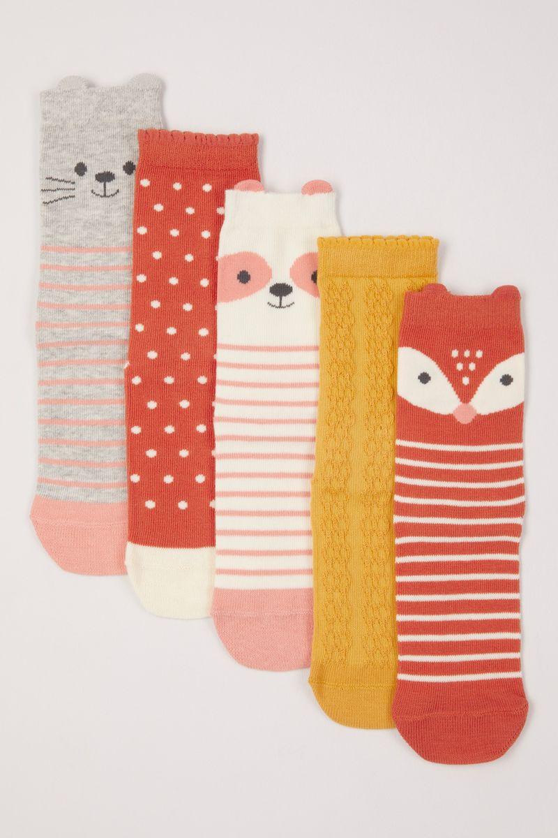 5 Pack Woodland Socks
