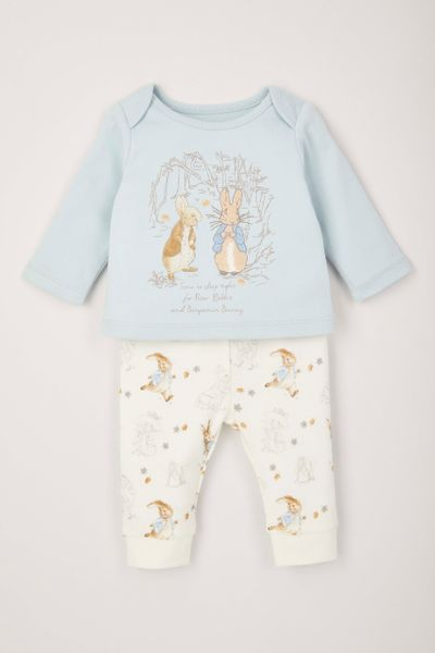 Peter Rabbit Blue Blue Pyjamas