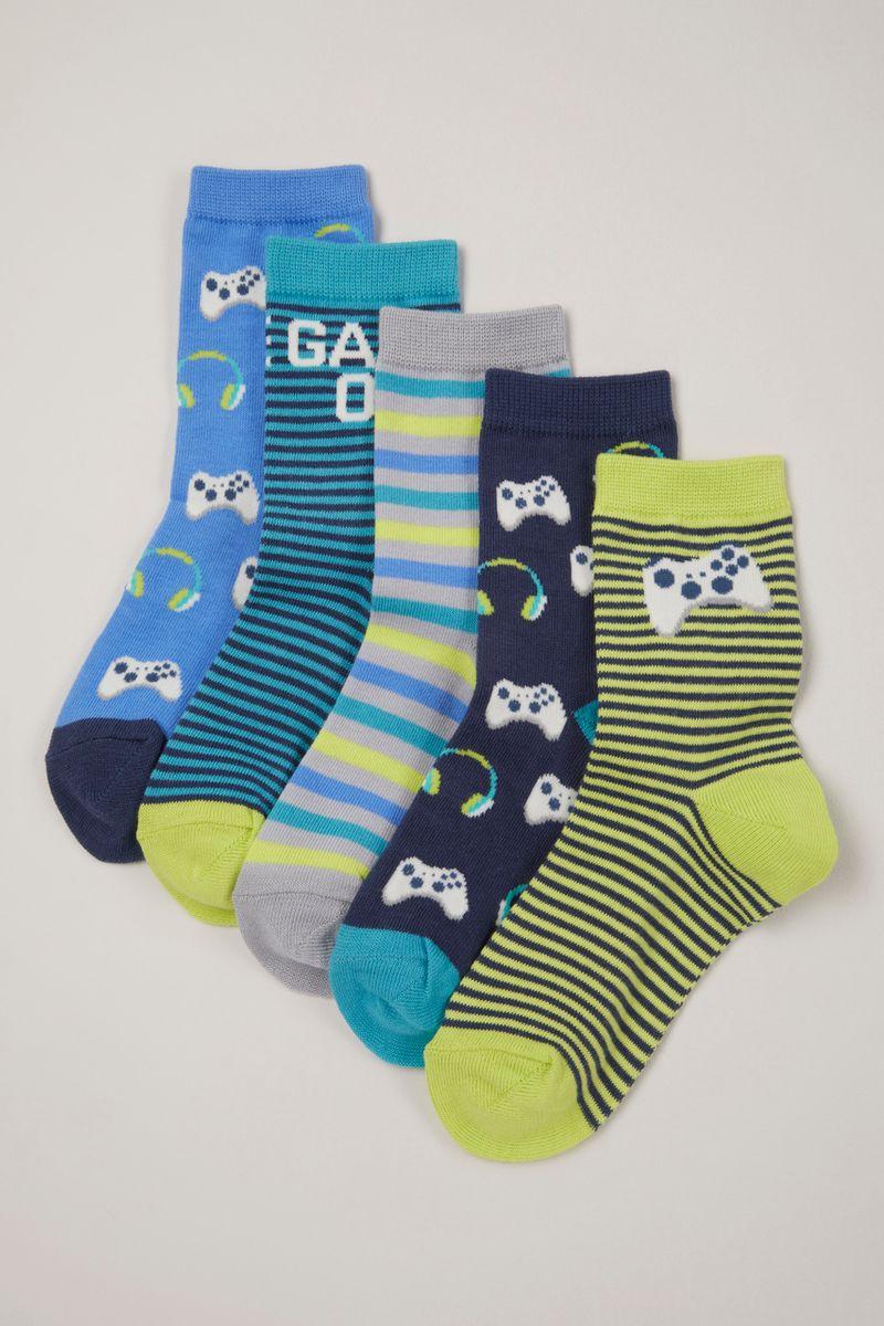 5 Pack Game Controller Socks