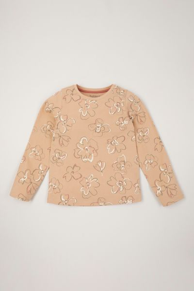Abstract Flower T-Shirt 1-10yrs